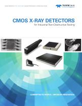CMOS X-ray Detectors for Industrial NDT