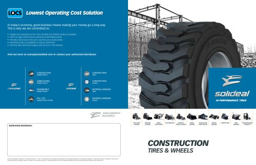 CONSTRUCTION TIRES & WHEELS