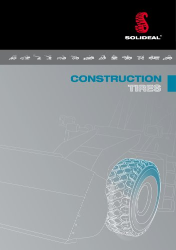 SOLIDEAL Construction Tires Catalog