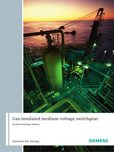 Brochure Gas-insulated switchgear Branches