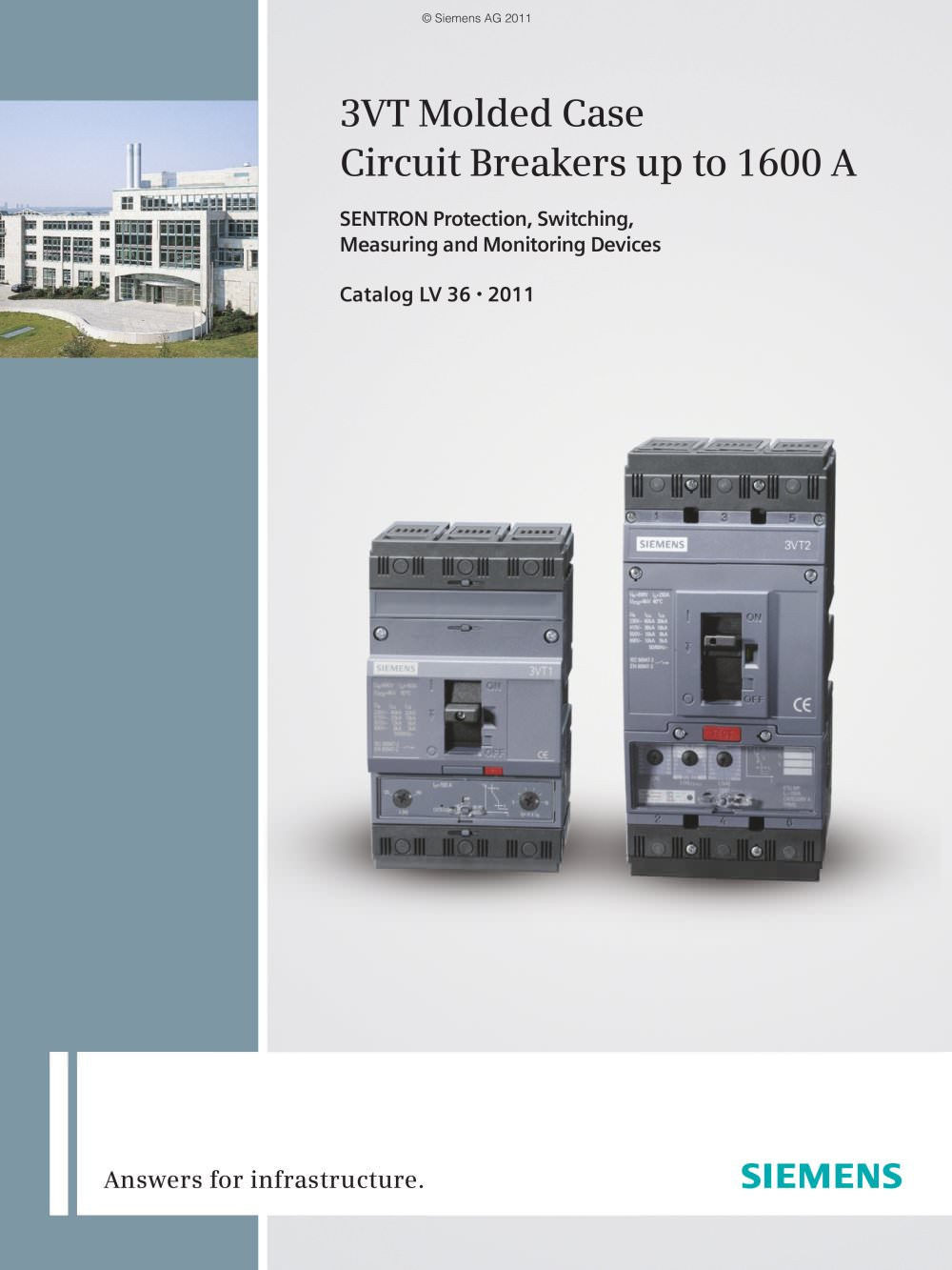 Catalog Lv 36 Circuit Breakers 3vt Siemens Low Voltage How To Build A Simple Breaker Unit Electronic 1 276 Pages