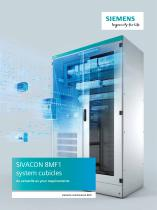 SIVACON 8MF1 system cubicles As versatile as your requirements