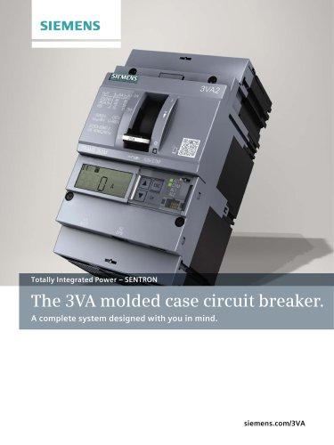 The 3VA molded case circuit breaker.