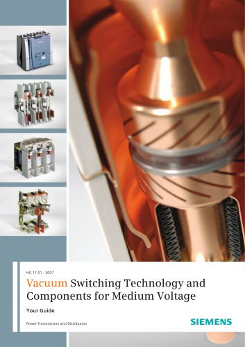 Vacuum Switching Technology and Components for Medium Voltage - Your guide