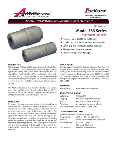 Model 333 Series