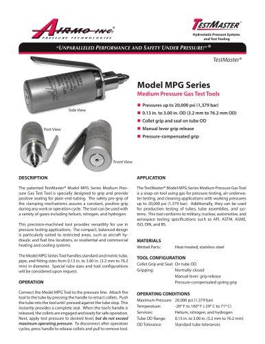 Model MPG Series