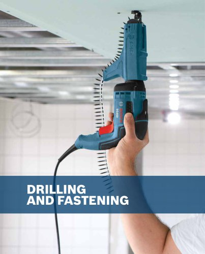 Drilling and Fastening