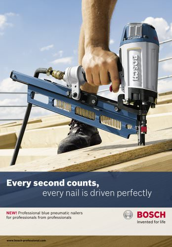 Every second counts,  every nail is driven perfectly