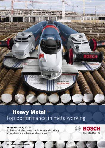 Heavy Metal –  Top performance in metalworking