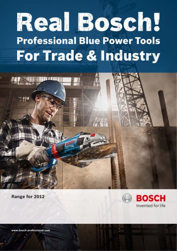Professional Blue Power Tools For Trade & Industry