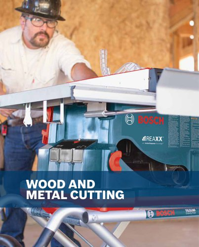 Wood and Metal Cutting
