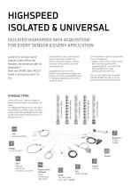 Multifunctional Highspeed Modules (TRION3 series modules) - 2