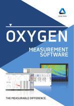 OXYGEN Measurement Software brochure - 1