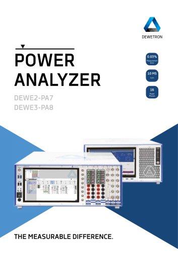 Power Analyzer Brochure