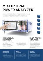 Power Analyzer Brochure - 2