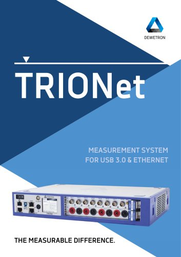 TRIONet Brochure