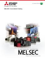 Mitsubishi Electric Controllers Consolidated Catalog