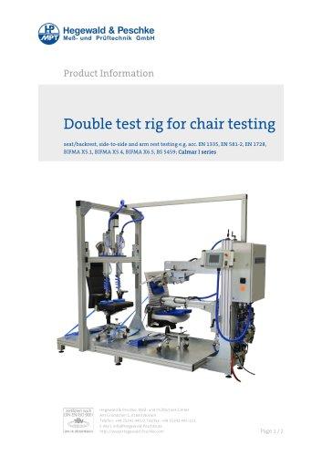Alternating bending test bench - Furniture testing