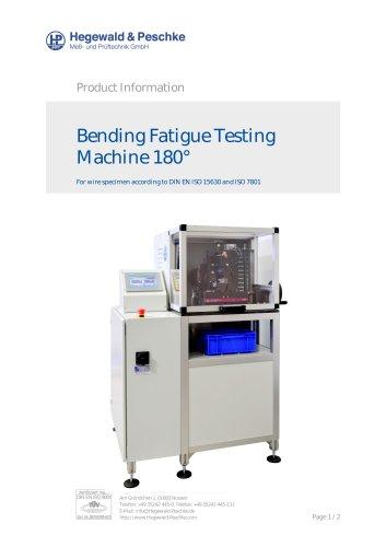 Bending fatigue testing machine
