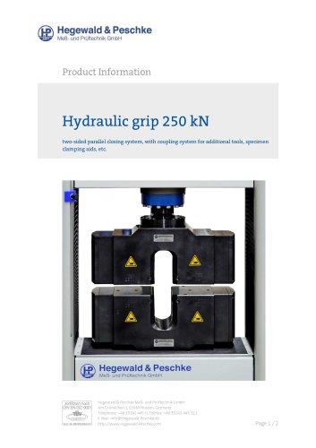 Hydraulic grips 250kN
