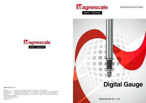Magnescale Digital gauge catalog