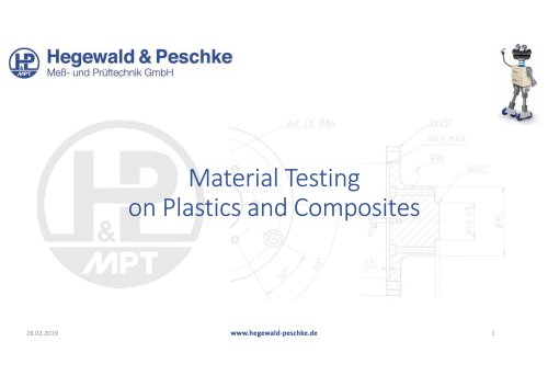 Material Testing on Plastics and Composites
