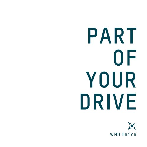 PART OF YOUR DRIVE - WMH Herion