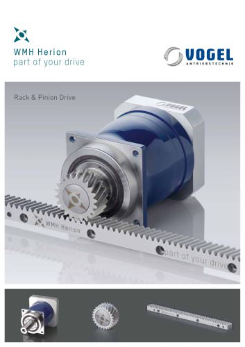 Rack & Pinion Drive