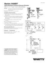 Anti-Siphon, Spill-Resistant Vacuum Breakers