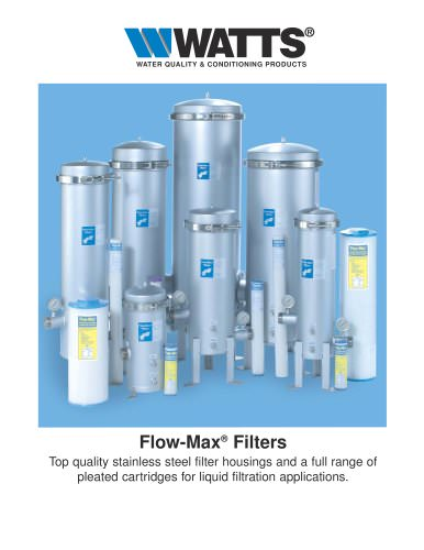 Flow-Max Filters