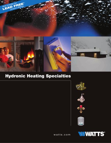 Hydronic Heating Specialties