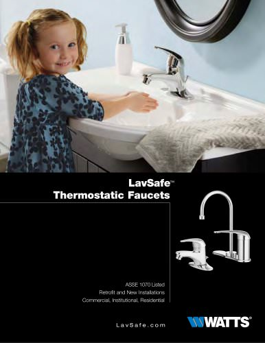 LavSafe Thermostatic Faucets