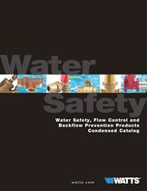 Water Safety, Flow Control and Backflow Prevention Products Condensed Catalog