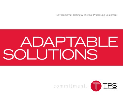 Adaptable Solutions