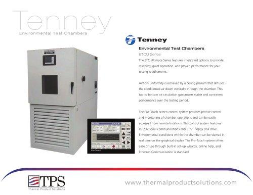 ETCU Series Environmental Test Chambers