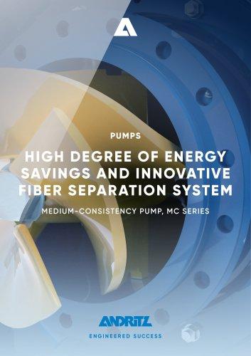 ANDRITZ medium-consistency pump - MC series