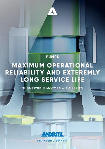 ANDRITZ Submersible motors - SM Series