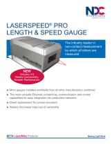 LASERSPEED® PRO LENGTH & SPEED GAUGE