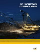 Electric Power Systems for Mining