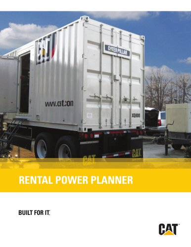 Rental Power Planner