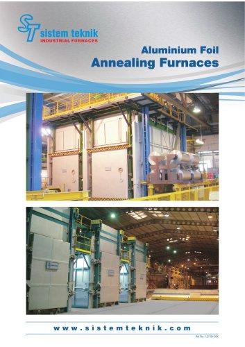 Aluminium Foil Annealing Furnaces