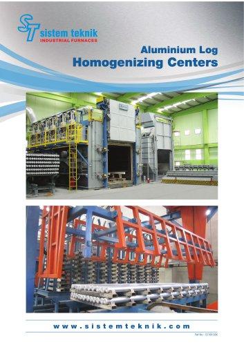 Aluminium Log Homogenizing Furnaces