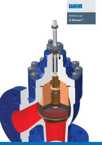 Blakeborough X-Stream Trim Valves brochure
