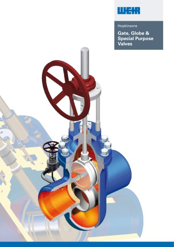 Hopkinsons® Gate, Globe & Special Purpose Valves