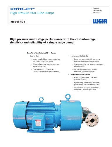Product Brochure: Roto-Jet Model RD11
