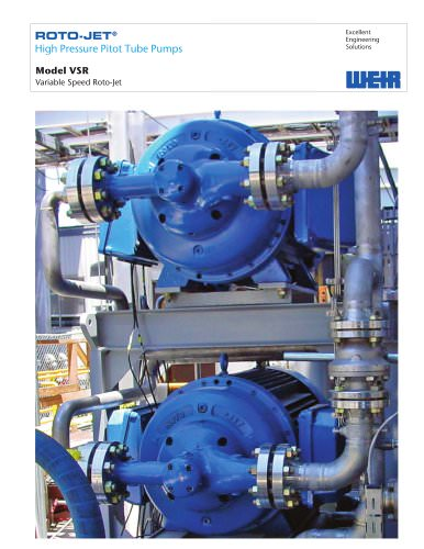 Product Brochure: Roto-Jet Model VSR