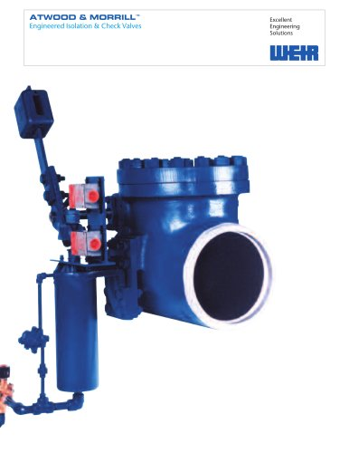 Product Catalogue: Atwood & Morrill® Valves