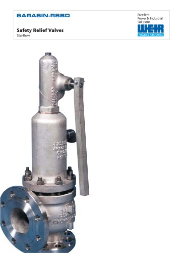 Sarasin - RSBD Starflow Safety Valves