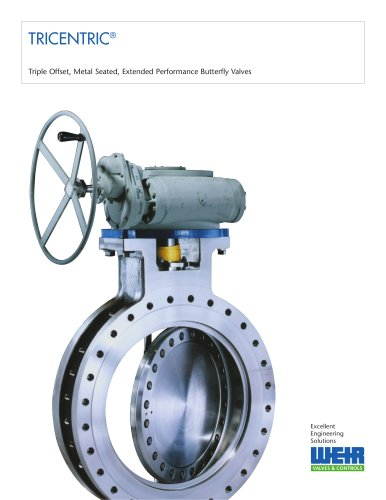 Tricentric Butterfly Valve
