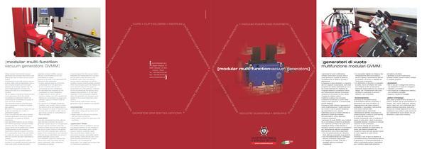 modular multi-function vacuum generators GVMM